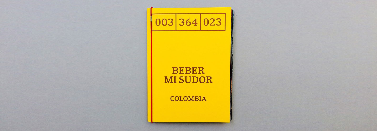 Beber Mi Sudor: story-telling photo book