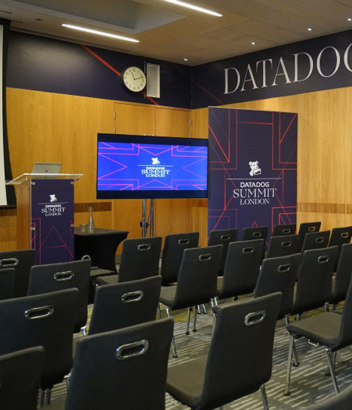 Datadog Annual Global Summit: multi-format event printing
