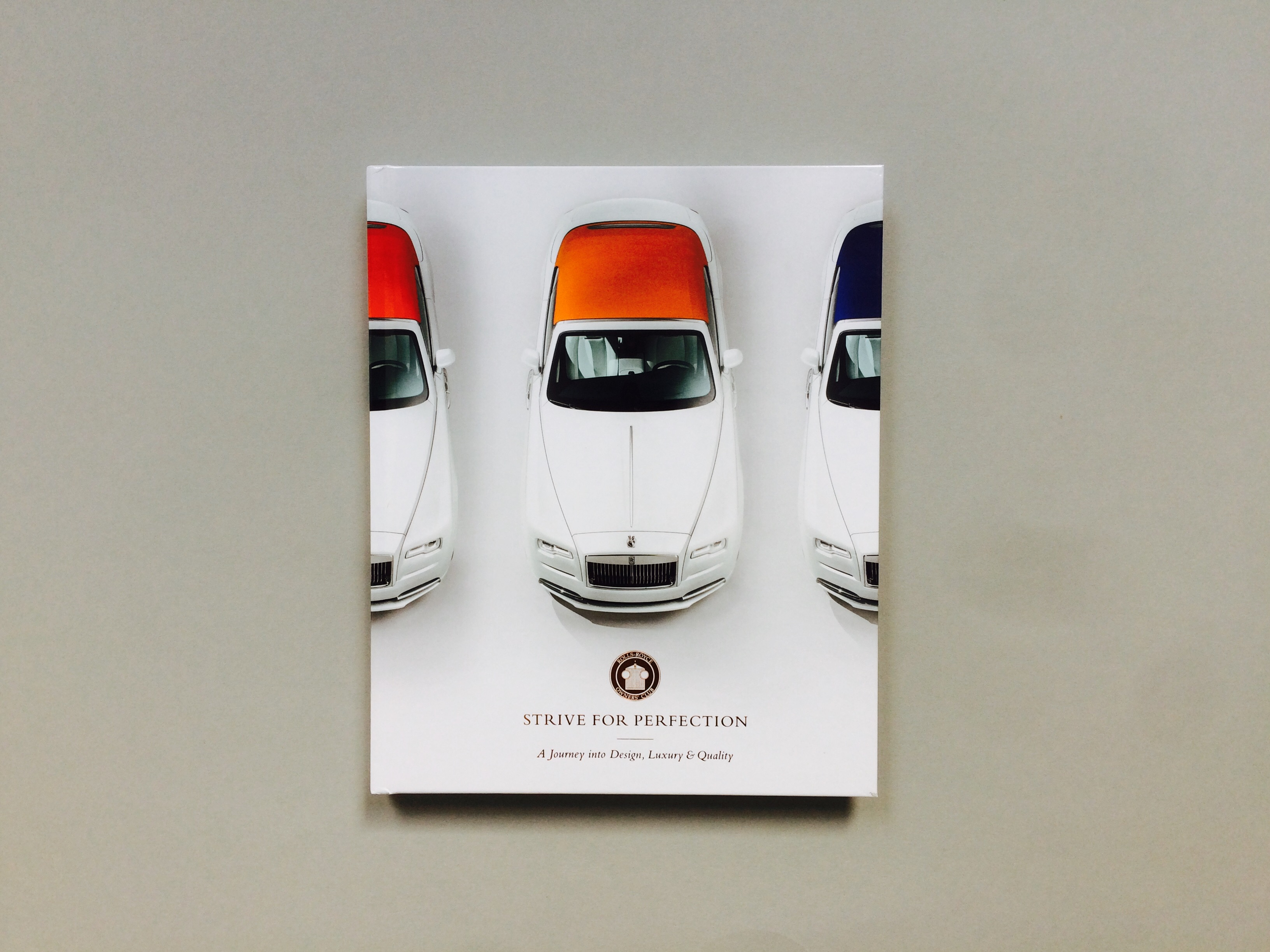 Rolls Royce Owners' Club commemorative book