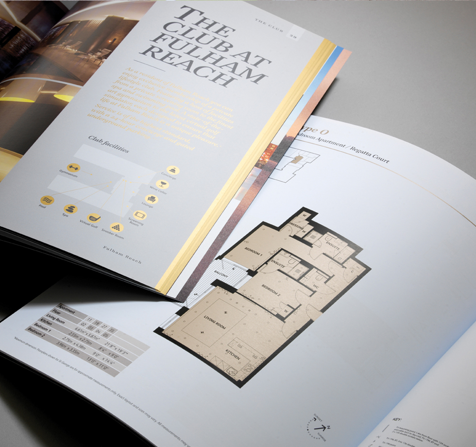 St George PLC: luxury property brochures