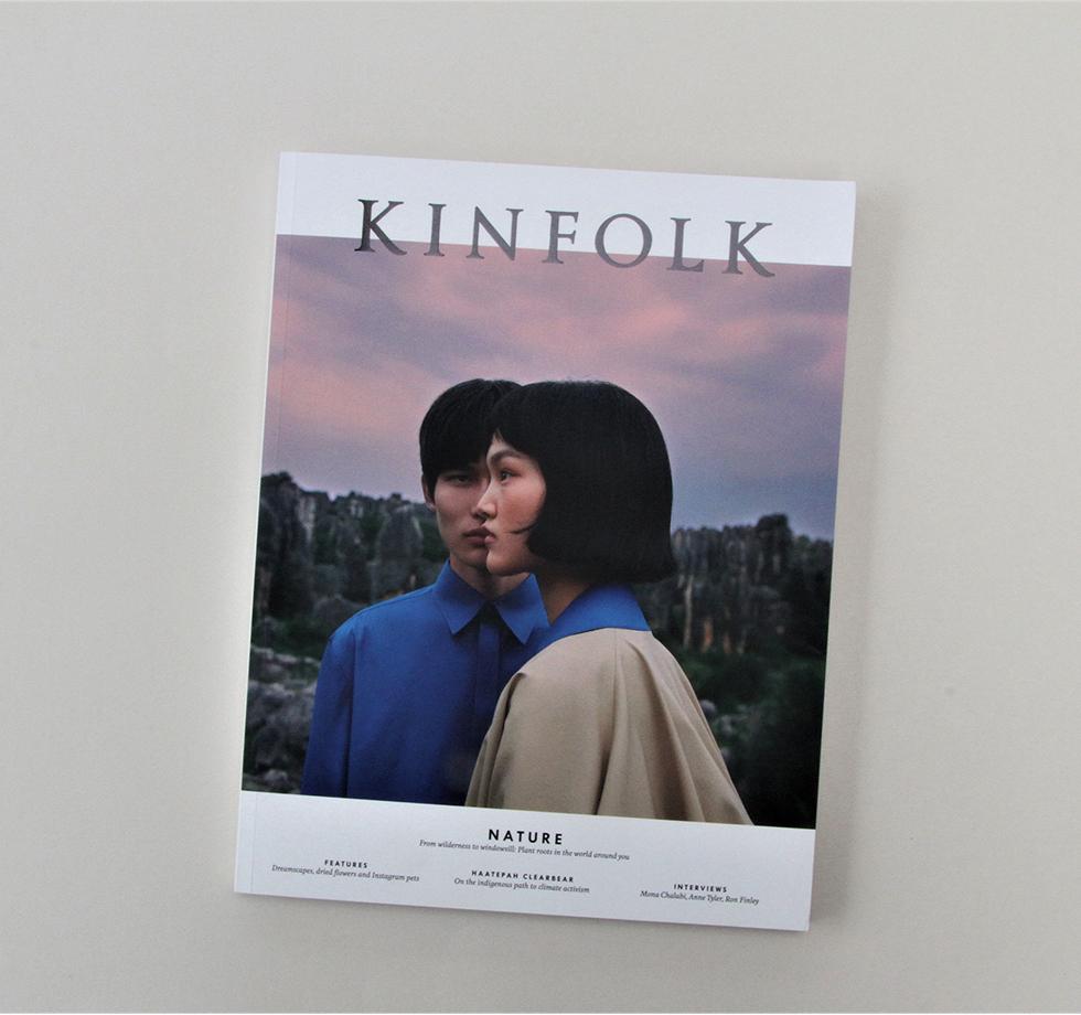 Kinfolk Magazine: printing, retouching & reprographics