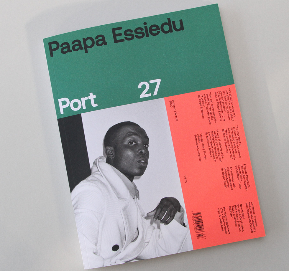 Printing Port magazine: repro by Park's in-house specialists