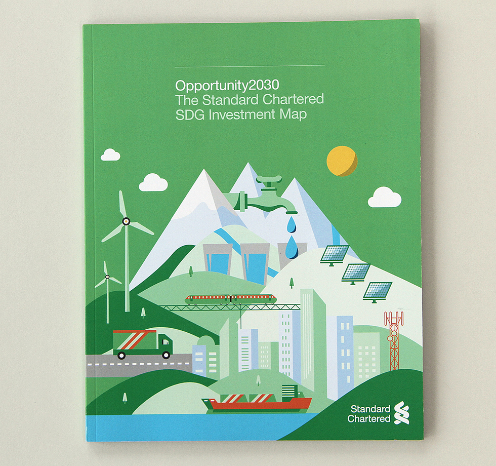 Standard Chartered Bank: carbon neutral printing