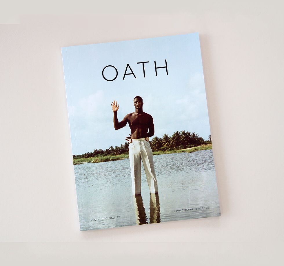 Oath: photography magazine printing in 4-colour black