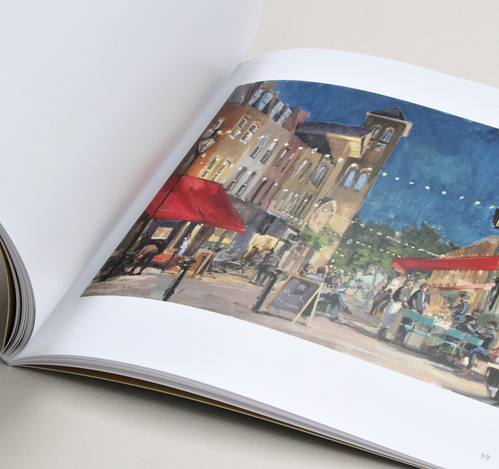 Catalogue printing: repro & colour accuracy for Portland Gallery