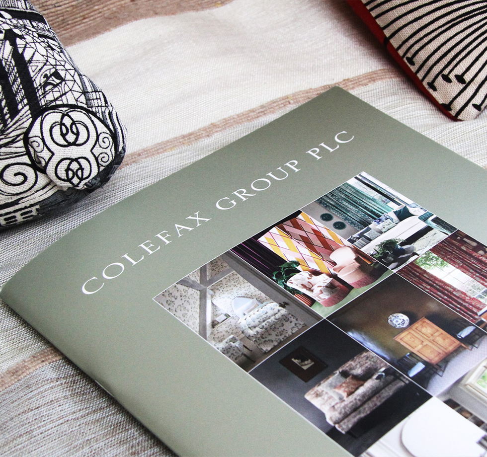 Colefax Group: annual report printing & typesetting