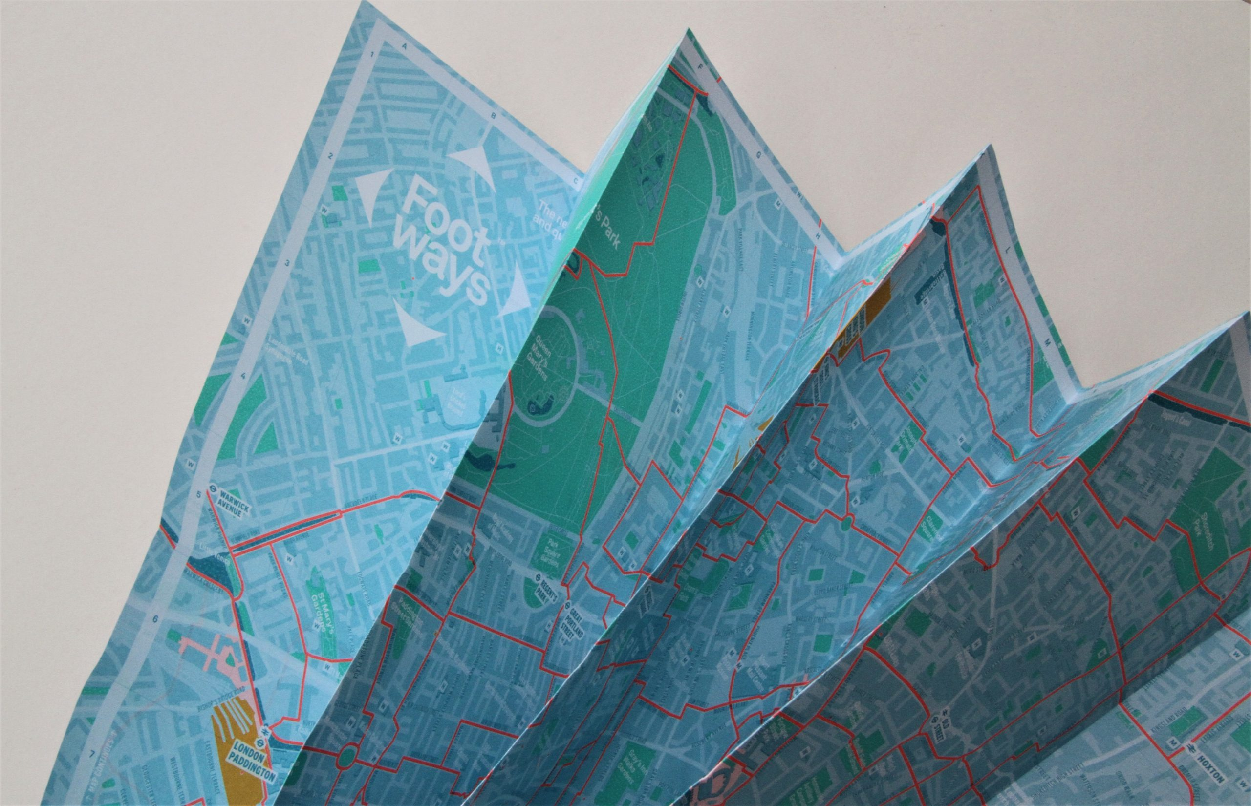 Map printing: sustainable maps & posters for Urban Good
