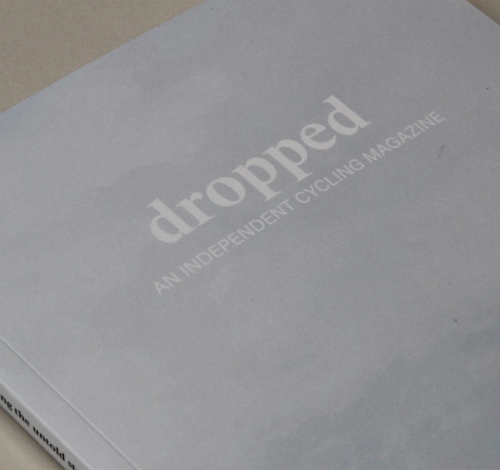 Magazine printing for Dropped, a new independent title