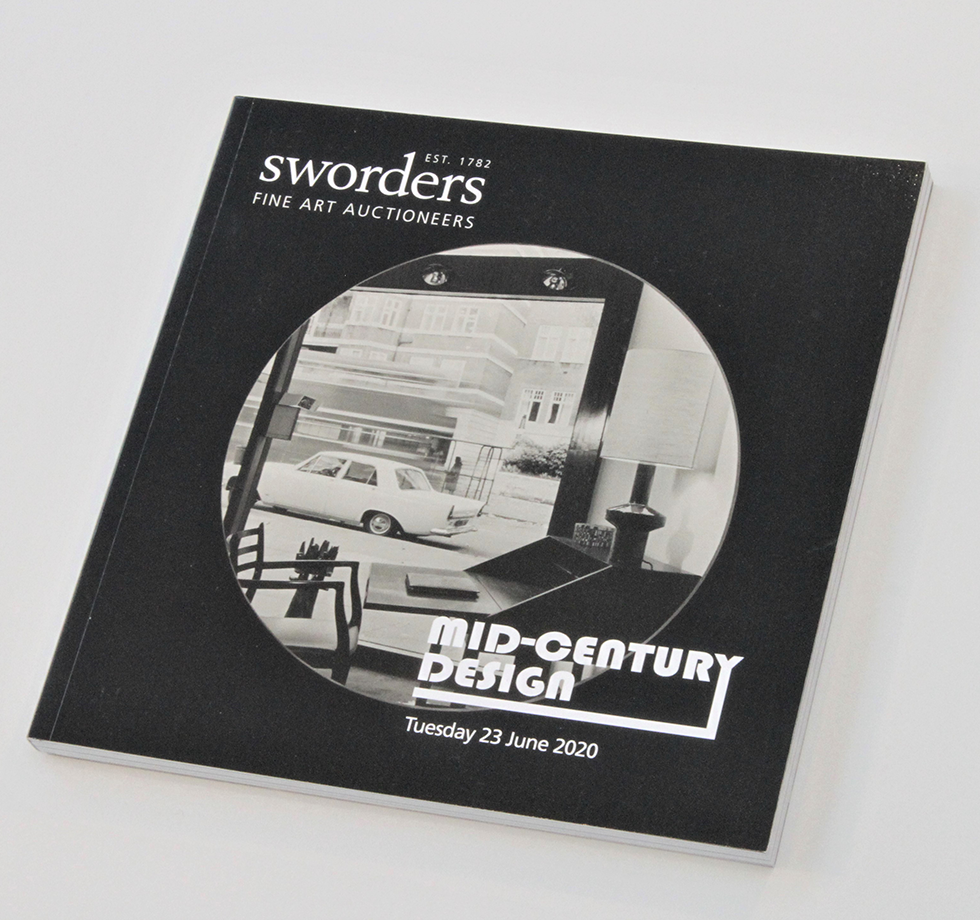 Catalogue printing and image retouching for Sworders