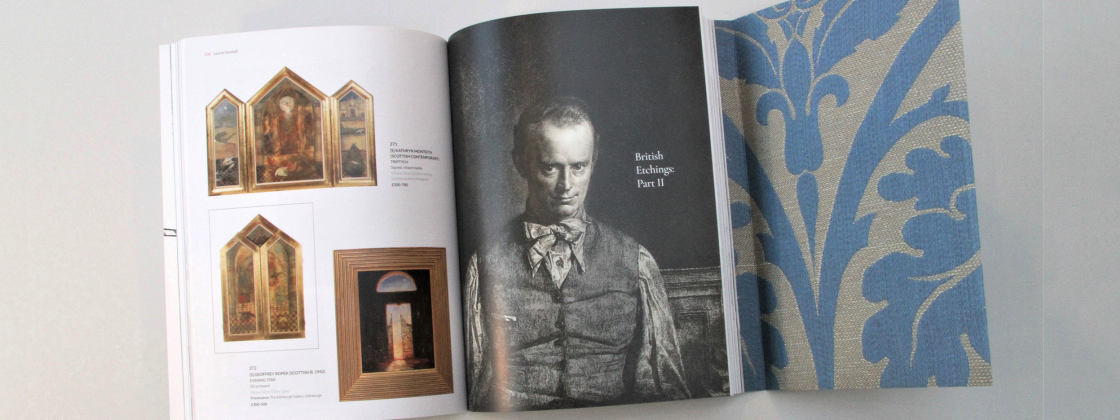 Auction catalogue printing & design