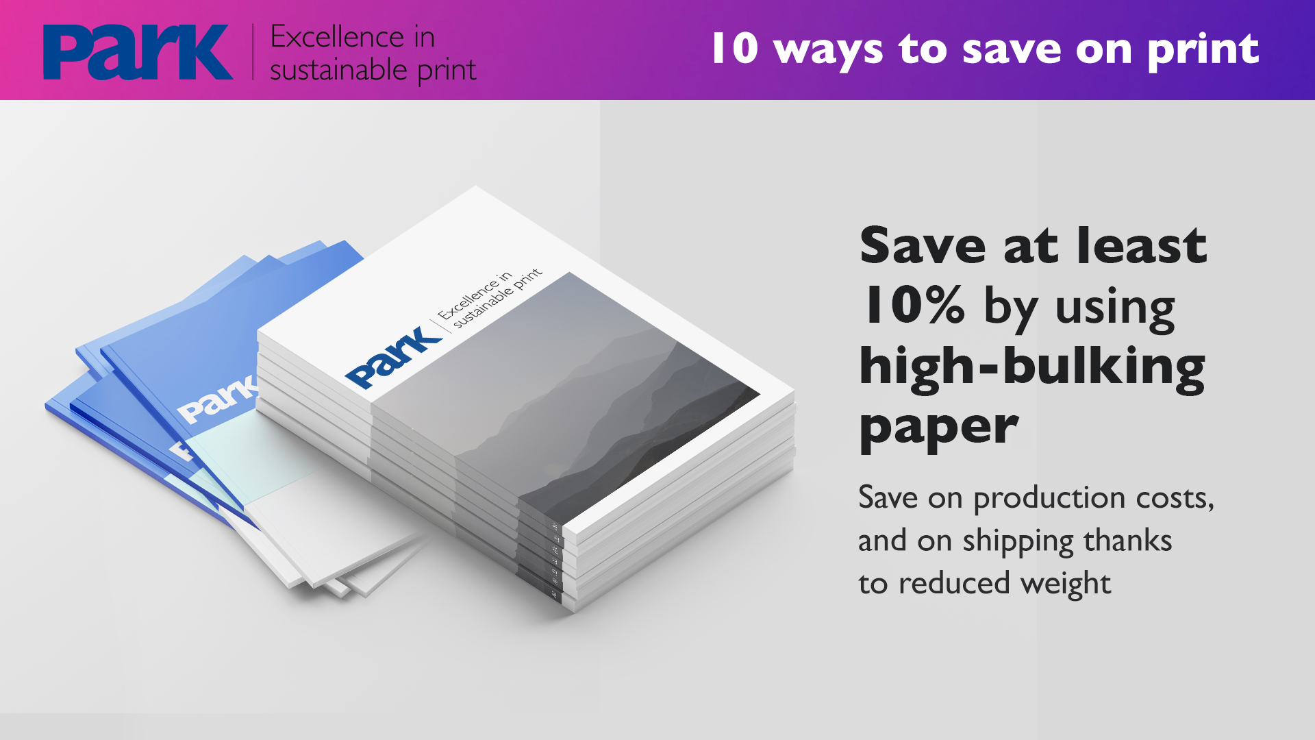 High-bulking paper savings