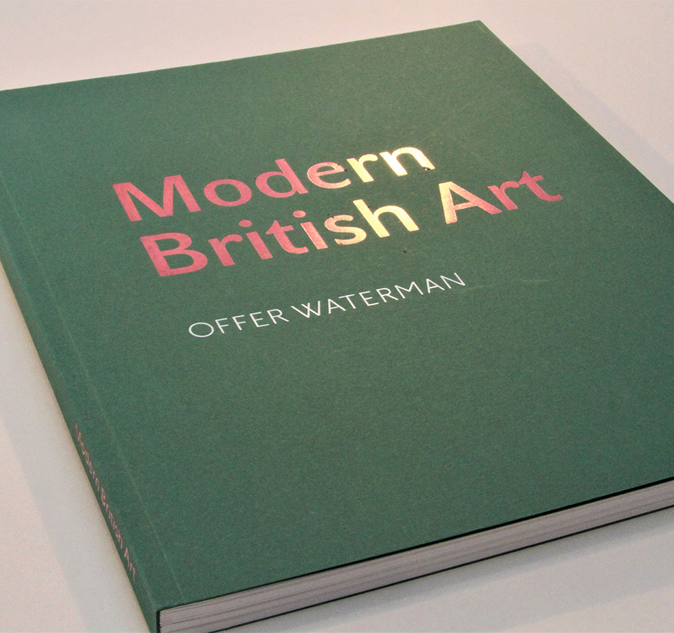 Exhibition catalogue printing for Offer Waterman art gallery
