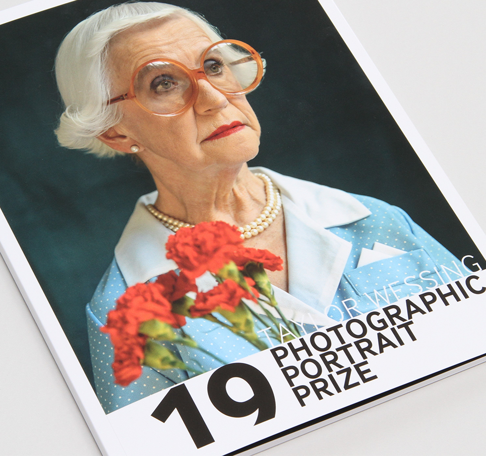 Exhibition catalogue printing for The National Portrait Gallery